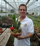 dish gardens clay cactus