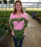 topiary ivy heart