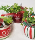 Christmas Ceramic Ornament 6.5 in