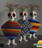 LiveTrends Fiesta Skeletons 3 in