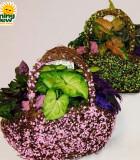 Dish Garden Sisal & Vine Purse